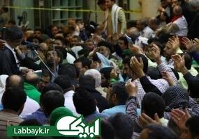 مراسم باشکوه دعای عرفه  با حضور دانشگاهیان در کربلای معلی برگزار شد