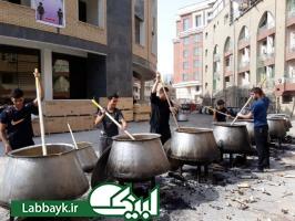 پلو قیمه نجفی غذای محبوب نذری عراقی ها