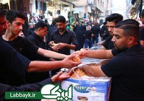 میزبانی موکب عراقیها از عزاداران حسینی در ایام محرم