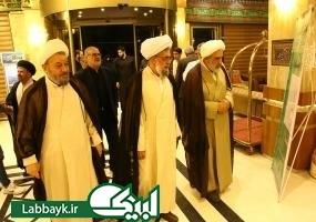 ورود حجت الاسلام والمسلمین قمی و رئیس ستاد به کربلای معلی