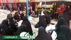 مراسم باشکوه دعای کمیل در خیمه گاه حسینی برگزار شد