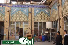 مرقد آیتاللهالعظمی سید محسن حکیم در مسجد هندی نجف اشرف