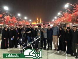 آخرین کاروان عتبات دانشگاهیان استان البرز در مرحله نوزدهم وارد ایران شد/کاروان عمار