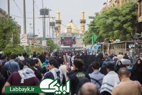 تصاویر زائران اربعین حسینی در کربلا