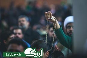 تصاویری از مناجات زائرین در حرم حضرت علی(ع)