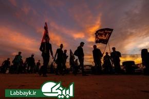 تصاویر زیبا از پیاده روی اربعین حسینی