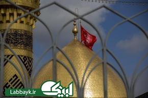 جمع آوری سیاهی های عزا از صحن مطهر عباسی با آغاز ماه ربیع الأول
