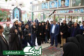 اردوی پس از سفر دانشجویان زائر عتبات از استان قزوین برگزار گردید