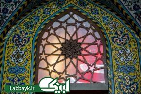 نصب پنجره های جدید در ایوانهای صحن مطهر حضرت عباس(ع)