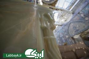 آغاز پنجمین بخش از پروژه سنگفرش و کاشیکاری ایوان های صحن حضرت عباس (ع)