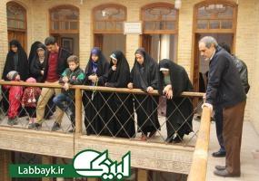 بازدید چهار کاروان دانشگاهی از اماکن زیارتی و تاریخی شهر نجف