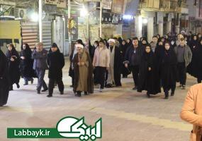 همزمان با شهادت حضرت فاطمه(س)،۵ کاروان دانشجویی وارد نجف اشرف شدند