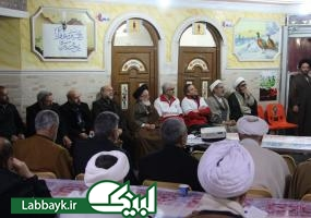 مراسم گرامیداشت چهلمین سالروز پیروزی انقلاب اسلامی ایران با حضور دانشگاهیان در نجف اشرف برگزار شد