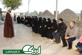 بازدید 4 کاروان دانشگاهی از قبرستان وادی السلام