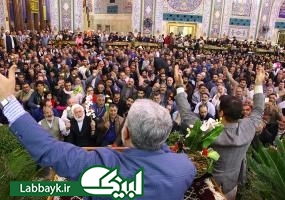 جشن باشکوه میلاد حضرت زهرا(س) در کربلای معلی/گزارش تصویری