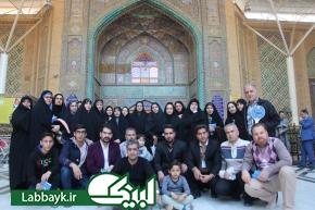 کاروان های دانشگاهی آثار مذهبی و تاریخی نجف اشرف را بازدید و زیارت می کنند