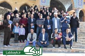 حضور در مسجدی که در و دیوارش مظلومیت حسین (ع) را فریاد می زند
