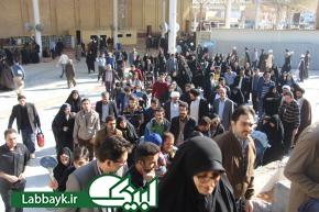 حضور کاروان های دانشگاهی در زیارت دوره ویژه دانشگاهیان در نجف