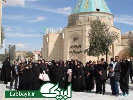 اردوی پس ازسفرعتبات کاروانهای نینوا و خوارزمی استان البرز در شهرقم برگزار شد