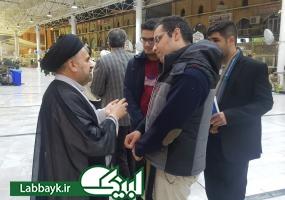 حضور رئیس ستاد در مراسم وداع زائرین دانشگاهی در نجف اشرف