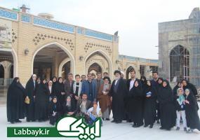 زیارت و بازدید دانشگاهیان از مسجد سهله؛اقامتگاه امام زمان (عج) در زمان ظهور