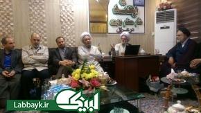 نشست هم اندیشی اساتید دانشگاه های اصفهان در بعثه مقام معظم رهبری در کربلا برگزار شد