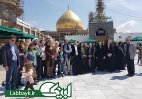 روز گذشته ۸ کاروان دانشگاهی به شهرهای مقدس سامرا و کاظمین مشرف شدند