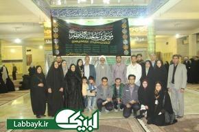 اهدای پرچم مزین به نام حضرت موسی بن جعفر(ع) به ستاد عمره و عتبات دانشگاهیان