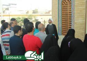 بازدید کاروان های دانشگاهی از مسجد حنانه/مسجدی که دو واقعه تاریخی در آن اتفاق افتاده است