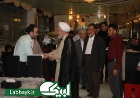 بازدید مسئول جدید بعثه مقام معظم رهبری در نجف اشرف از هتل استقرار دانشگاهیان