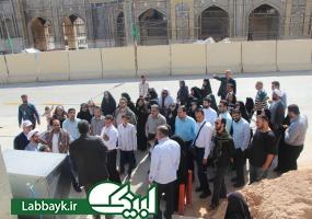 برنامه زیارت دوره ویژه ، برای آخرین کاروان دانشگاهی در نجف اشرف برگزار شد