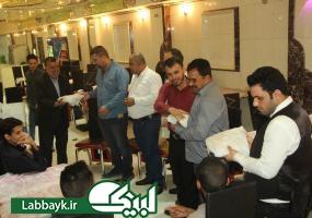 تقدیر و تشکر نماینده ستاد از عوامل و خادمین زائران در نجف اشرف