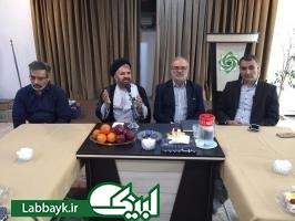 مراسم تکریم رضا همدانی؛ نماینده ستاد در عمره و عتبات دانشگاهیان برگزار شد