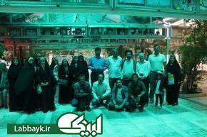 برگزاری اردوی پس از سفر  به استان قم در بیستمین دوره اعزام دانشگاهیان به عتبات عالیات