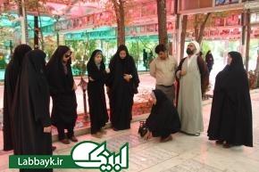 اردوی قم-جمکران، ویژه کاروان عتبات دانشگاهیان کرمان برگزار شد