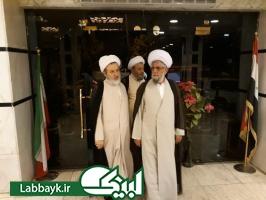 مسئولین بعثه مقام معظم رهبری در عراق از محل استقرار دانشگاهیان در کاظمین بازدید کردند