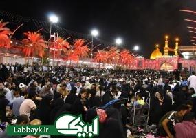 نجوای ملکوتی دعای کمیل در شب شهادت امام باقر(ع) در بین الحرمین