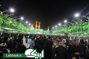 حال و هوای بین الحرمین در شب عرفه + تصاویر