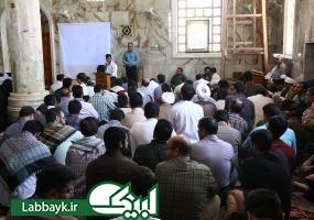 دانشگاهیان در روز ولادت امام هادی (ع)  به زیارت جناب حر مشرف شدند