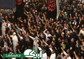 پرچم گنبد بارگاه امام حسین (ع) در کربلای معلی تعویض شد/گزارش اختصاصی لبیک