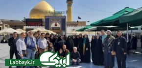 هشتمین کاروان دانشگاهیان استان البرز با نام  نینوا به میهن اسلامی بازگشتند