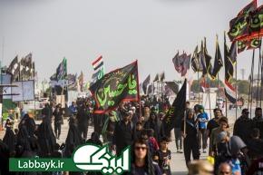 صحنه هایی از راهپیمایی جاودانه اربعین