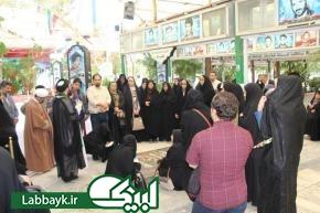 اردوی قم-جمکران، ویژه دو کاروان عتبات دانشگاهیان از اصفهان برگزار شد