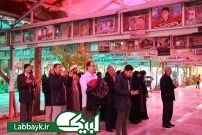 حضور زائرین دانشگاهی در موسسه اسراء و دیدار با آیت الله جوادی آملی